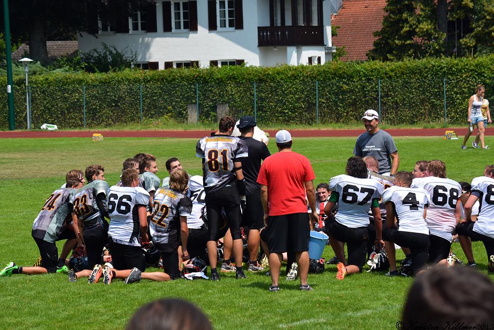 Head Coach Uli Damoser zeigt sich sehr zufrieden von seiner ersten A-Juniors Saison in Burghausen.