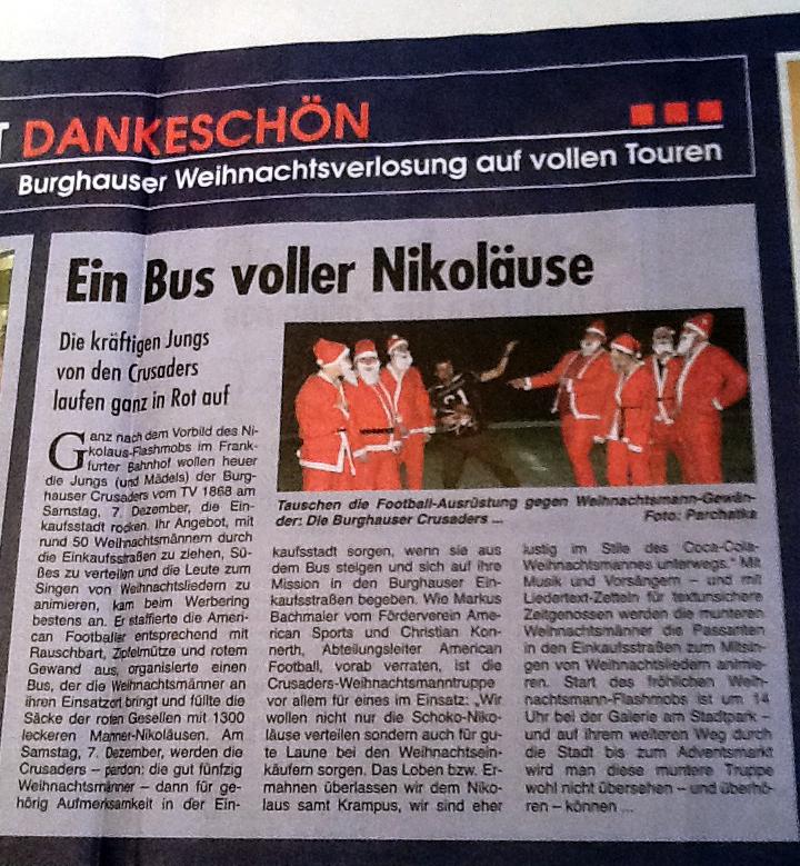 Wochenblatt_Nikolausaktion_Vorbericht