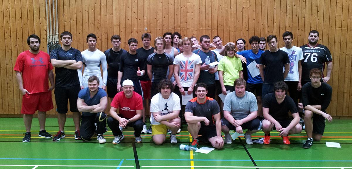 Crusaders_U19_Trainingsauftakt2014