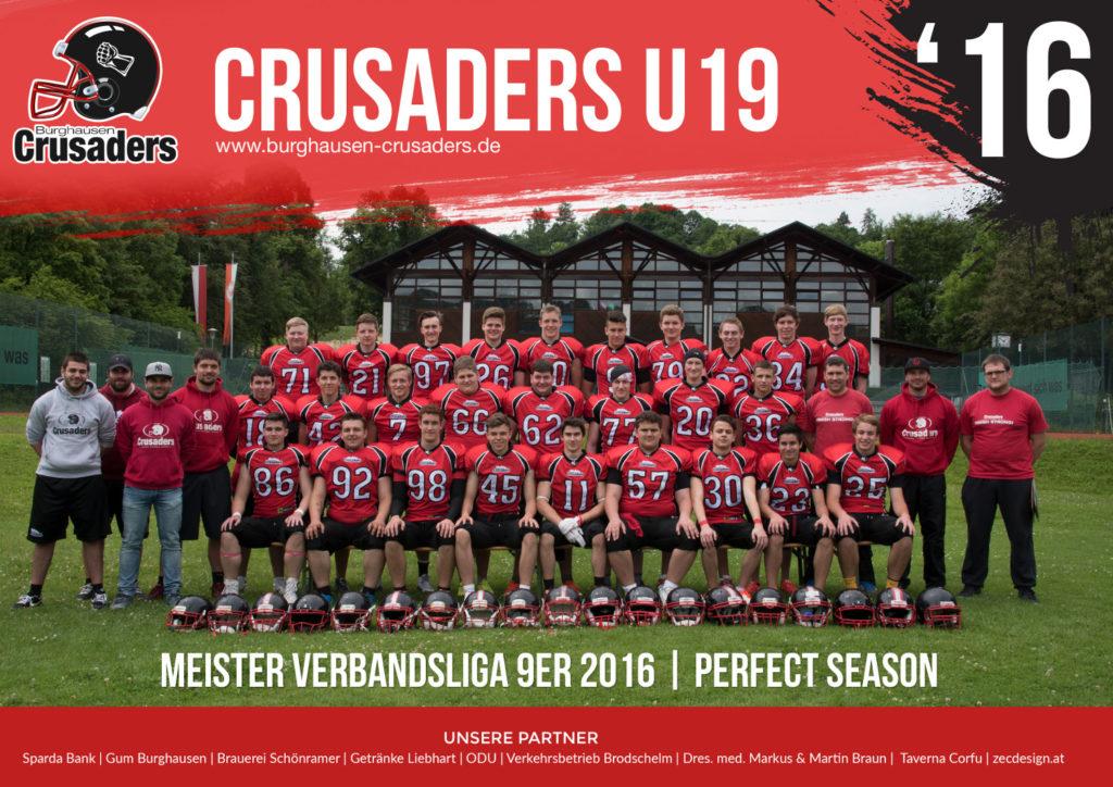 BurghausenCrusaders_U19_2016