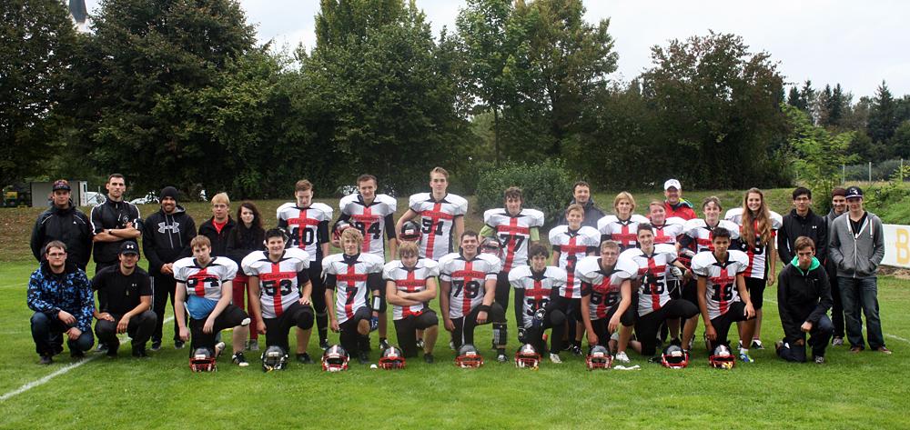 Crusaders: B-Juniors 2012: letztes Jahr war erst im Viertelfinale Schluss (Foto: Cursaders)