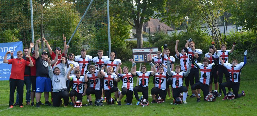Crusaders Jugend weiter auf Erfolgskurs (Foto: Karsten Killmer)