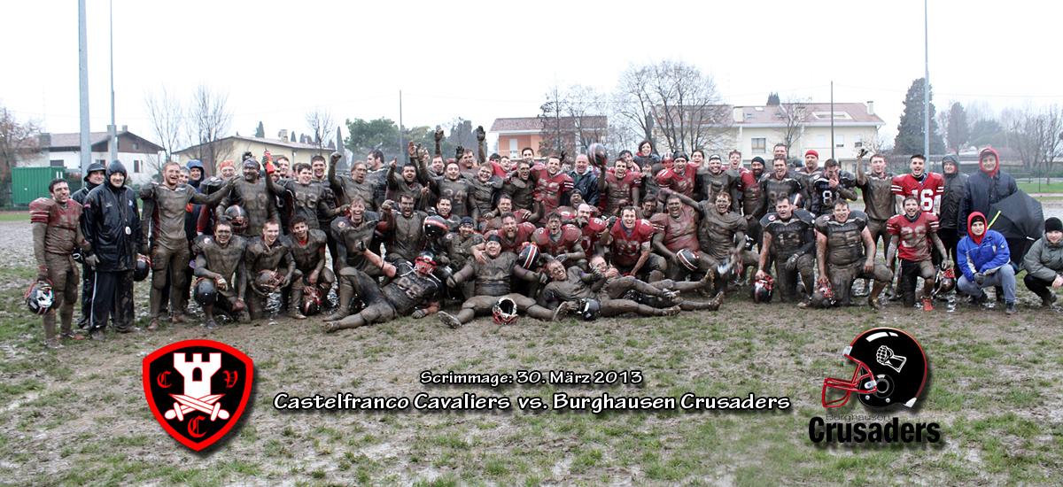 Scrimmage_Crusaders_vs_Castelfranco