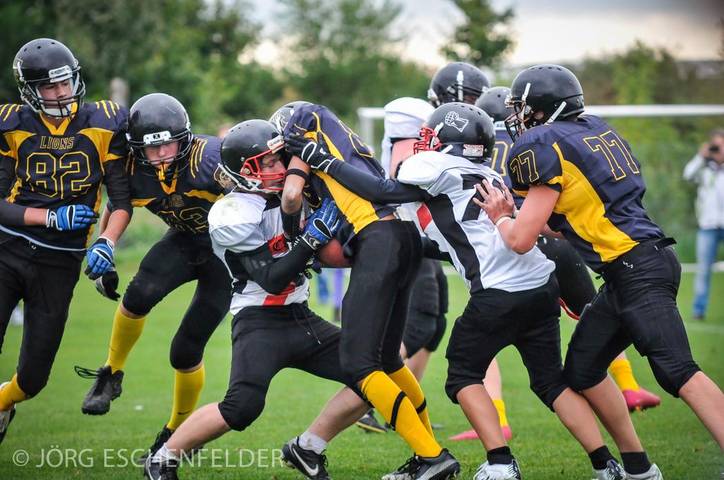 Eine geschlossene Teamleistung sichert den Erfolg in Feldkirchen (Foto: J. Eschenfelder)