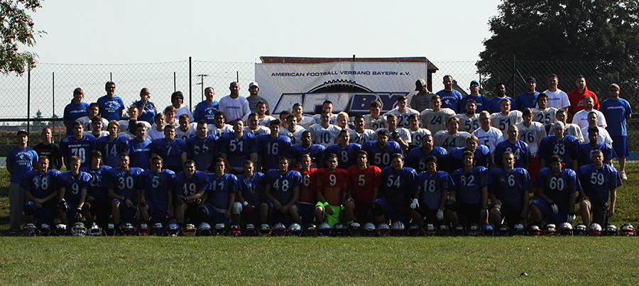Warriors 2013: drei Crusaders waren im Camp in Tannenlohe dabei