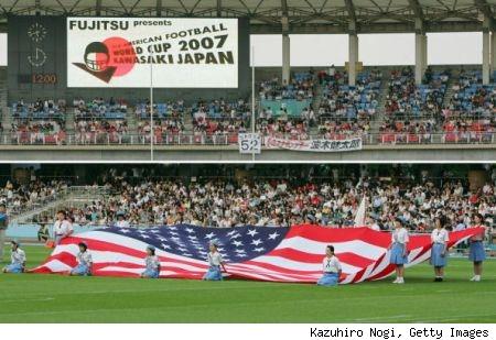 Highlight: Umpire im Endspiel der WM 2007 in Japan