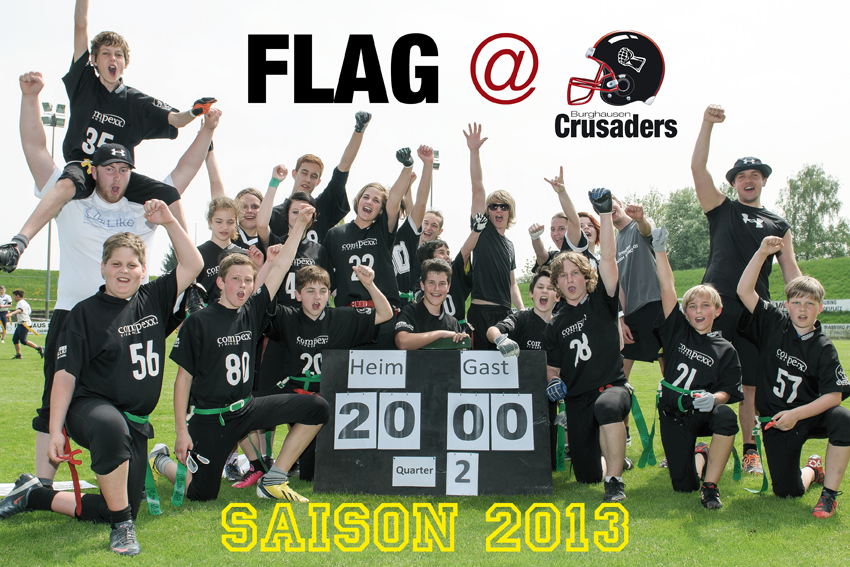 Burghausen_Crusaders_U15Flag_2013