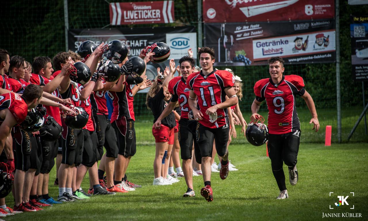 Crusaders U19 zu stark für Traunreut - Burghausen Crusaders