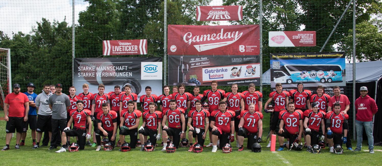 U19 mit Kantersieg im Derby gegen Traunreut - Burghausen Crusaders